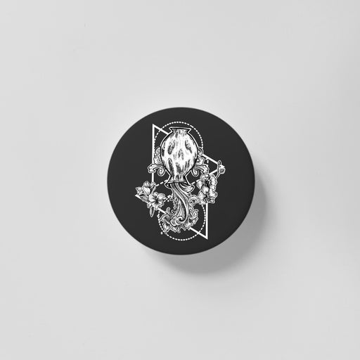 Aquarius Black 40mm Magnet