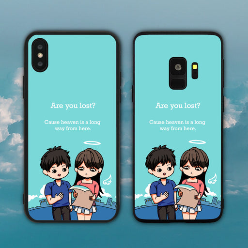 Are You Lost Cause Heaven Is A Long Way From Here Phone Case