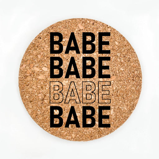 Babe Pot Coaster (Cork)