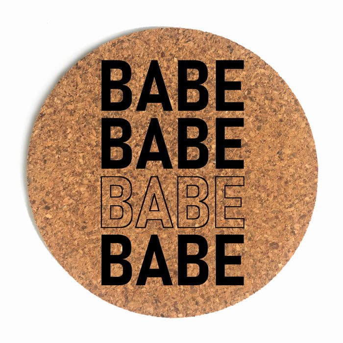 Babe Cup Coaster (Cork) Bundle