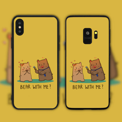 Bear With Me Phone Case