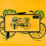 Bicycle with Bouquets Phone Case