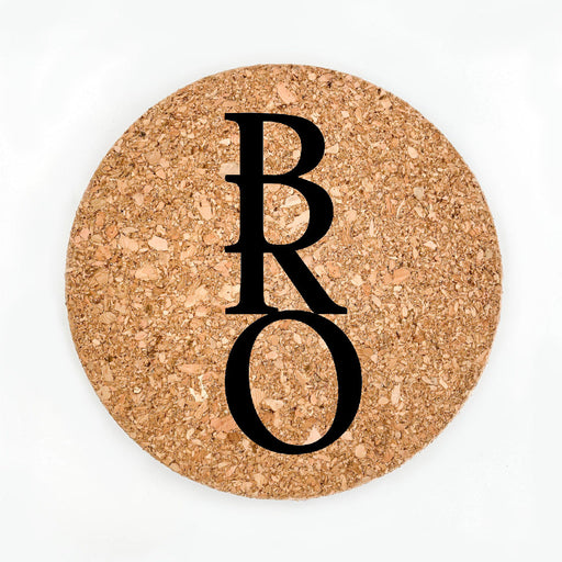 Bro Pot Coaster (Cork)