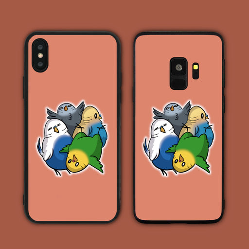 Budgies Fluff Phone Case