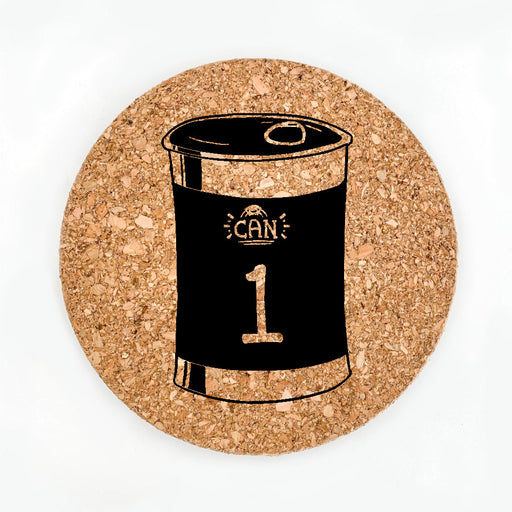 Can One Pot Coaster (Cork)