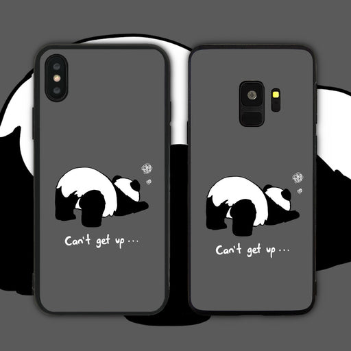 Can't Get Up Panda Phone Case