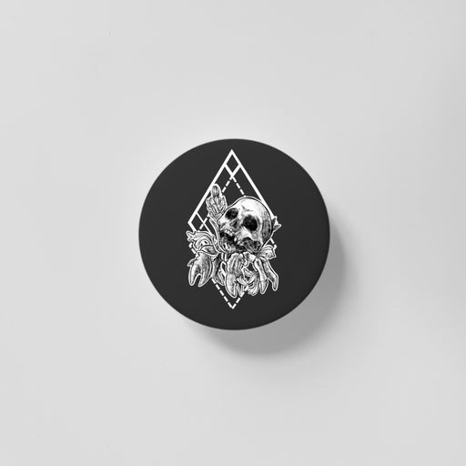 Cancer Black 40mm Magnet