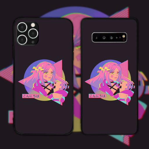 Cybergirl by Nadja.arts Phone Case