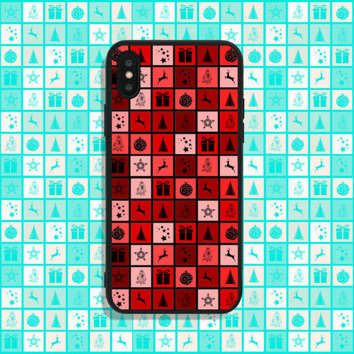 Christmas Squares Phone Case