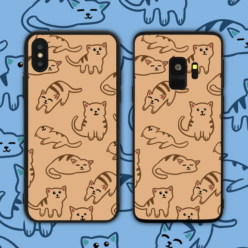Chubby Cute Cats Phone Case