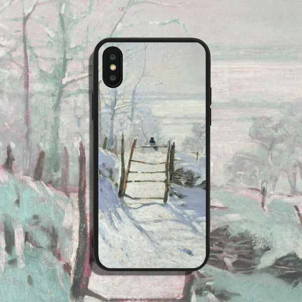 Claude Monet The Magpie A Phone Case