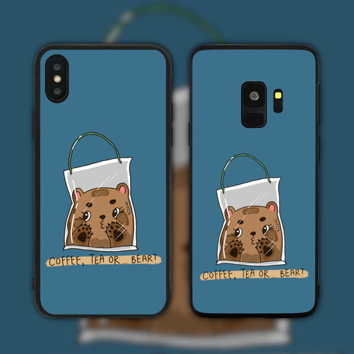 Coffee Tea Or Bear Phone Case