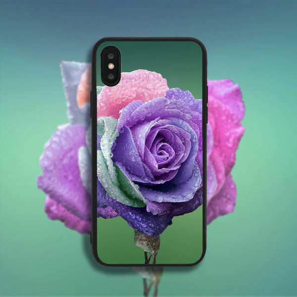 Colored Rose Phone Case