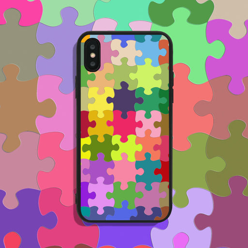 Colorful Jigsaw Phone Case