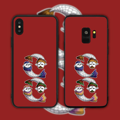 Colourful Merlion Plushies Phone Case