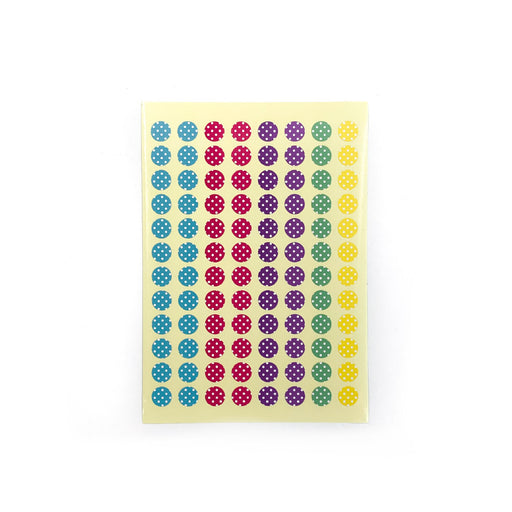 Colourful Polka Dots Stickers (Small)