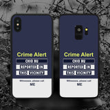 Crime Alert Chio Bu Phone Case