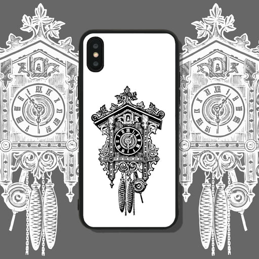 Cuckoo Clock White Phone Case
