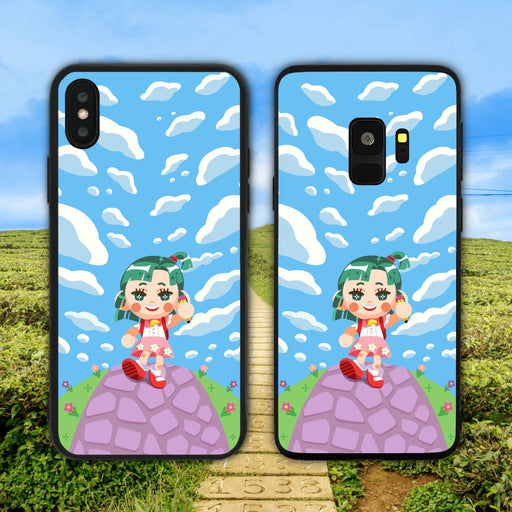 Cute Girl Strolling Phone Case