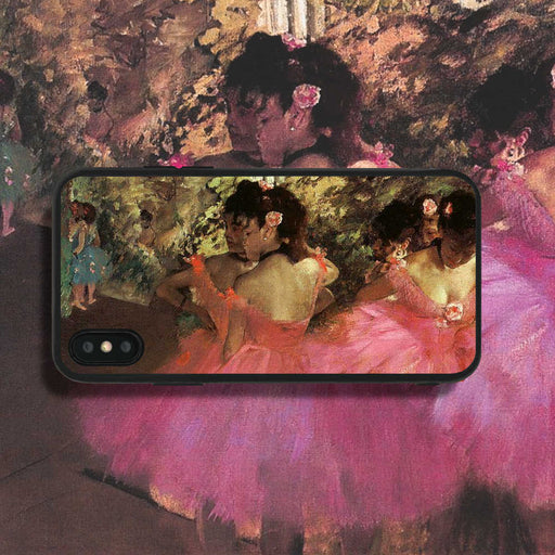 Edgar Degas Dancers In Pink Phone Case