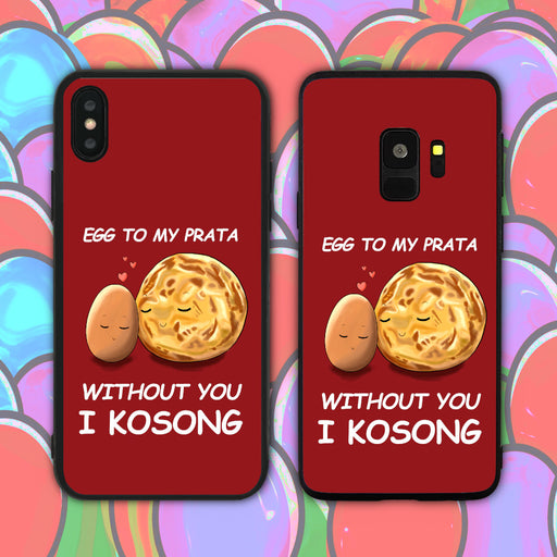 Egg to My Prata Red Phone Case