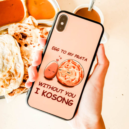 Egg to My Prata Pastel Peach Phone Case
