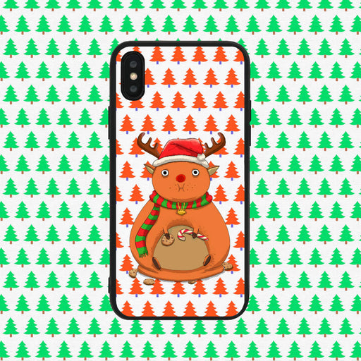 Fat Rudolph Brown Phone Case