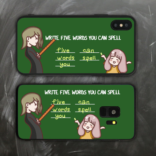 Five Words You Can Spell Phone Case