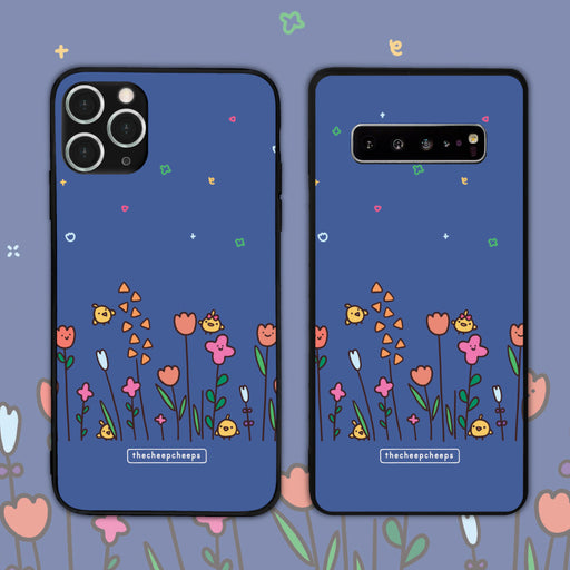 Flower Cheeps By TheCheepCheeps_ Phone Case