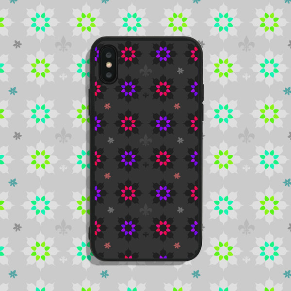 Flowers Red Purple Phone Case