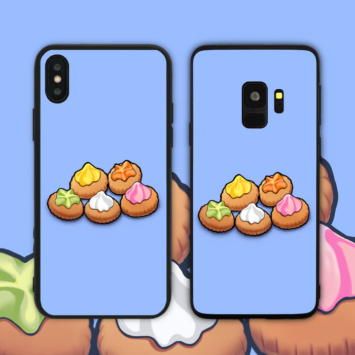 check out 62a91 3f0d0 Gem Biscuits Pastel Blue Phone Case