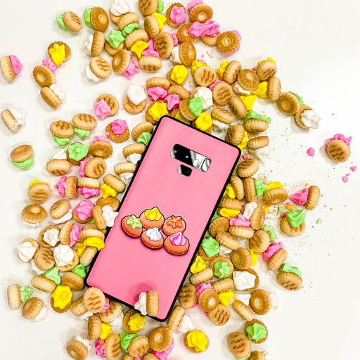 Gem Biscuits Pastel Pink Phone Case