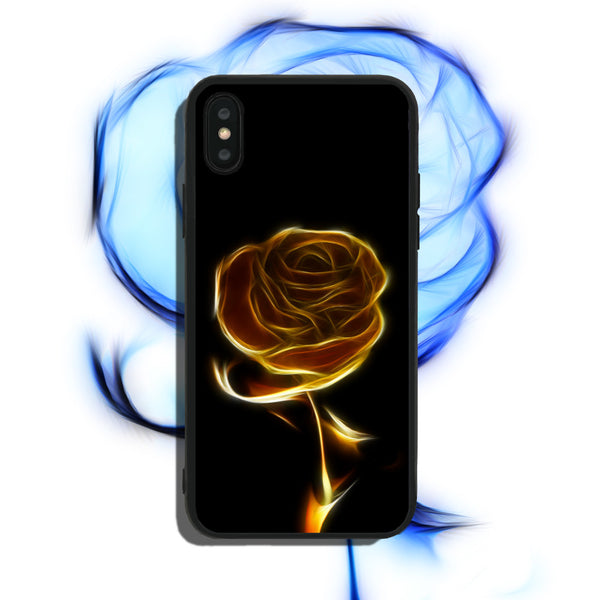 Gold Rose Phone Case