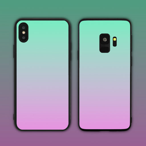 Green Purple Gradient Series Phone Case