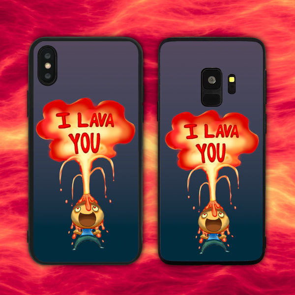 I Lava (Love) You Phone Case