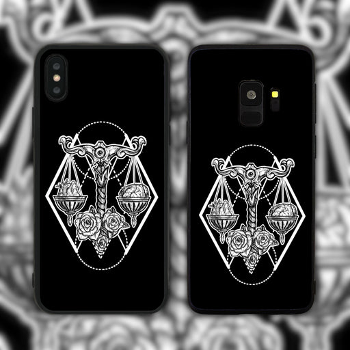 Libra Black Phone Case