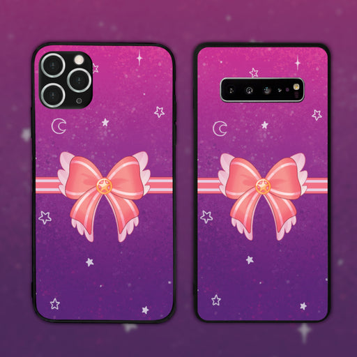 Magical Bow Purple by Ink0ying Phone Case