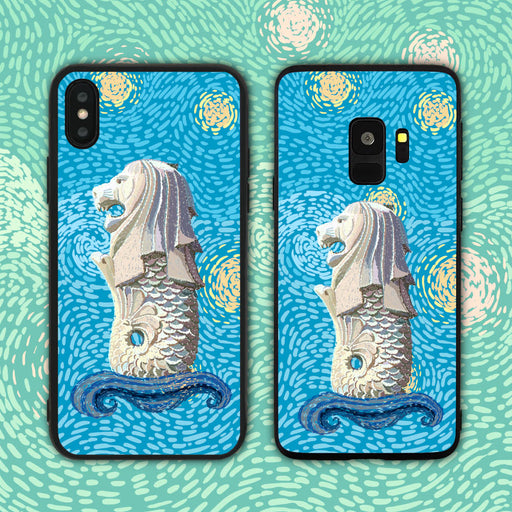 Merlion Impasto Style Phone Case