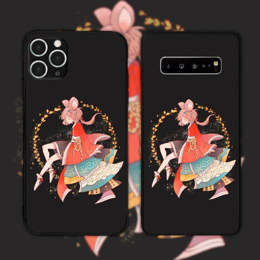 Mouse Black by Funrin Phone Case