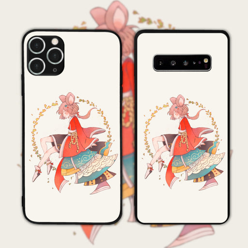 Mouse White by Funrin Phone Case
