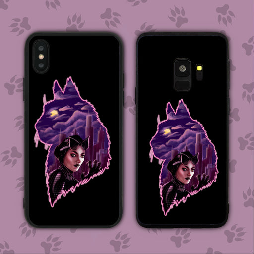 Mysterious Cat Lady Phone Case