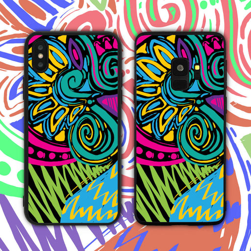 Neon Abstract Phone Case