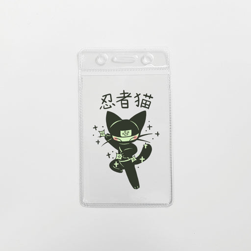 Ninja Cat Cardholder (Soft)