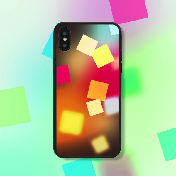 Of Squares and Colors Phone Case