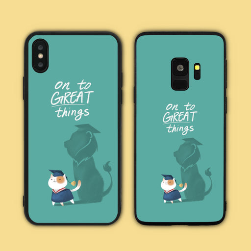 On to Great Things Phone Case