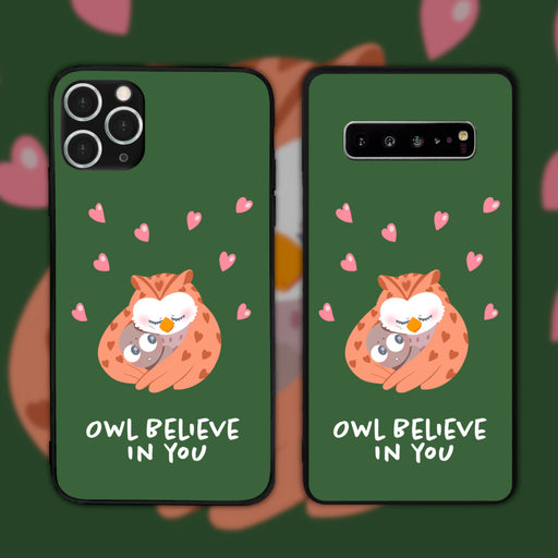 Owl Believe by Yiprincess Phone Case