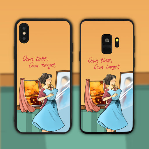 Own Time Own Target Phone Case