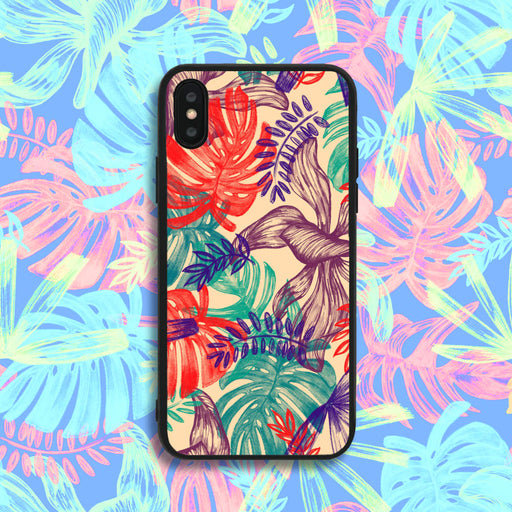 Painted Leaves Phone Case