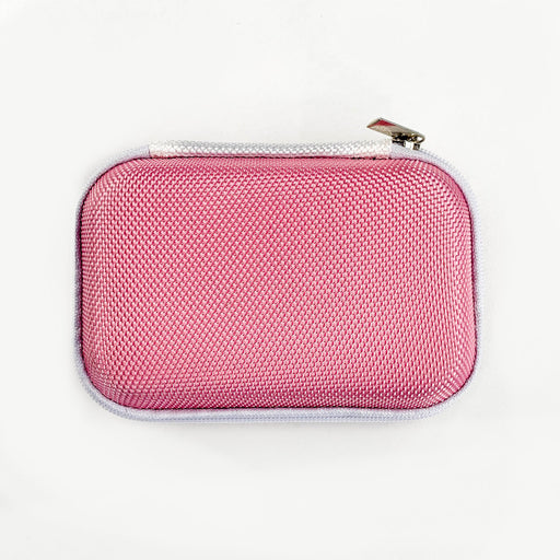 Pink Rectangular Earphone Case