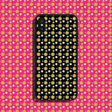 Raining Flowers Yellow Phone Case